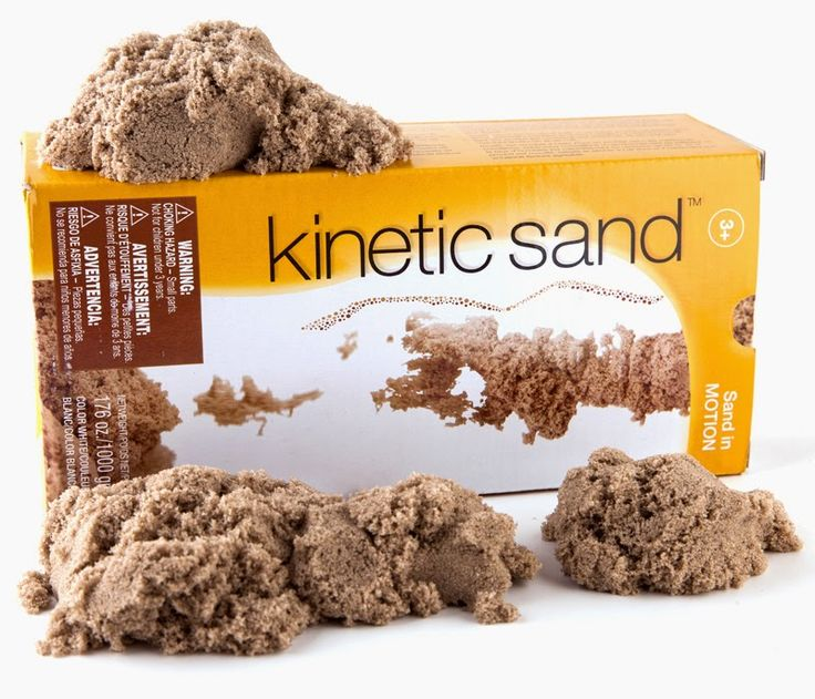 Fancy  ideas for items to use with kinetic sand