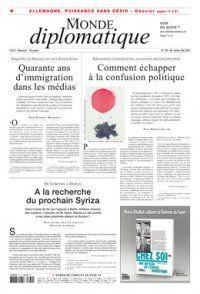 Insurrection dans les glaces, par Bernard Daguerre (Le Monde diplomatique, mai 2015)