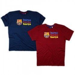 Camiseta oficial FC Barcelona para hombre por tan solo 9,44€. Tallas: M-XXL. Dos modelos disponibles.