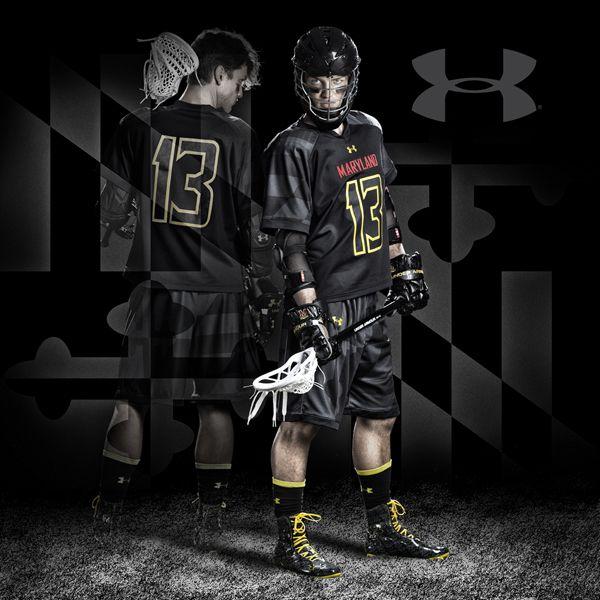 Maryland Mens lacrosse black ops uniforms