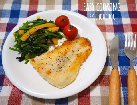 付け合わせ野菜まで一気に作れる白身魚のムニエル-簡単*時短*節約   ワーキング女子の簡単おかわりレシピ