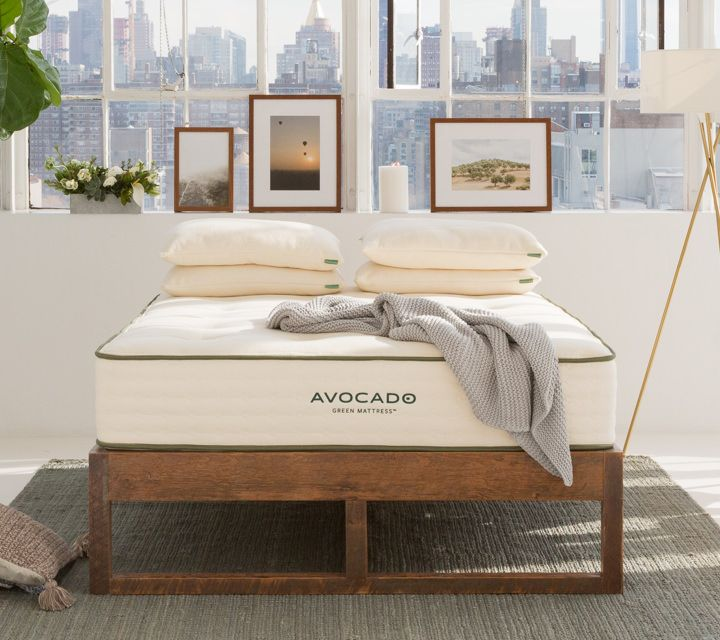 Eco Wood Bed Frame Twin With Images Green Mattress