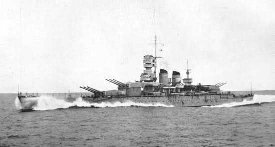 Italian battleship Vittorio Veneto