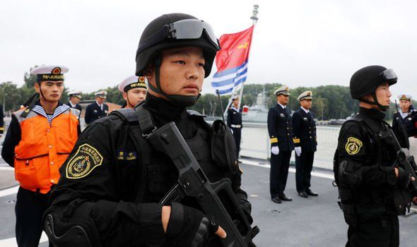 CHINA and Russia have joined forces to carry out a week of large-scale training drills in the Baltic Sea. By TOM PARFITT The superpowers are taking part in the terrifying war games amid growing fears of an all-out global conflict.