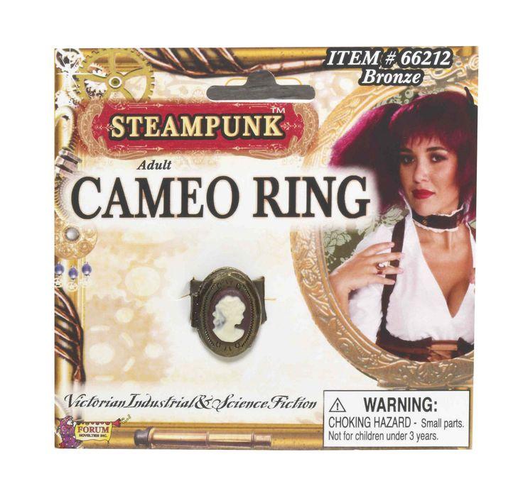 Кольцо с камеей в стиле Стимпанк — http://fas.st/PzJur1