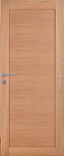 Porte int rieure contemporaine ch ne clair mat portes for Porte interieure contemporaine
