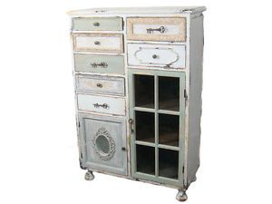 MOBILE-CREDENZA-CHIC-ANTIQUE-CASSETTI-SPORTELLI-SHABBY-CHIC-COUNTRY-PROVENZALE
