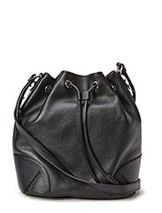 Bucket bag with string - Black