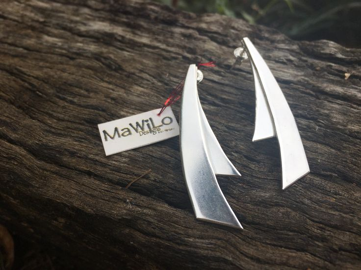 MaWiLo Designs - Made with Love Sterling silver earrings Mawilodesigns@gmail.com