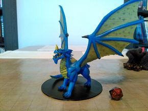 Blue Dragon (Updated) in Black Strong & Flexible