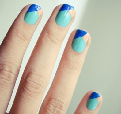 Beautiful manicures from Bourjois, Paris.