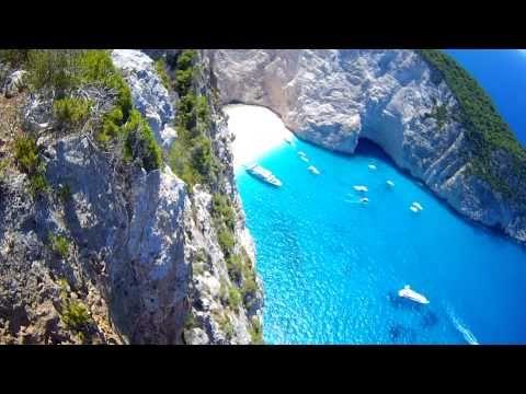 остров Закинтос, Греция. Бухта Навагио