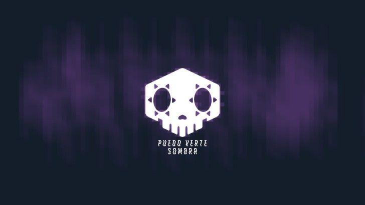 Hacker Logo Sombra Overwatch Wallpaper