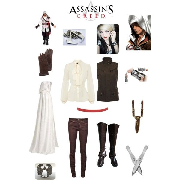 Female Assassin Costume | fashion look from July 2013 featuring Warehouse blouses, Lauren ...
