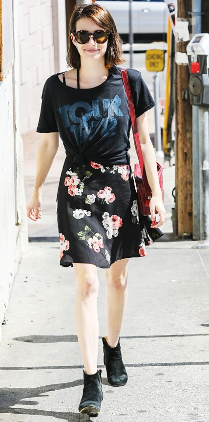 Look of the Day - July 1, 2014 - Emma Roberts from #InStyle