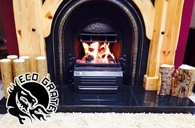 When you realize that you are not enjoying even heat output in the house from your #Fireplace, the only affordable way out is to install #EcoGrate in the fireplace.
