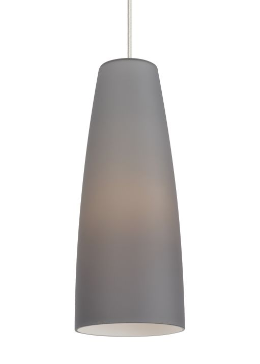 MATI F16; Subtle enough to use in any room of the home. While this flared cylinder light profile is streamlined, it's a stately 16 inches high. Easily made energy-efficient by ordering with an LED light bulb, this hand-blown glass design has understated appeal that would easily fit into modern, contemporary and transitional décor • TPL LIGHTING • MERGING LIGHTING WITH DESIGN • TPLLIGHTING.COM • TORONTO, CANADA •