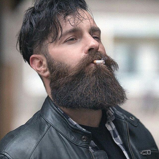 Smoking kills. . Visit www.beardsaresexy.com to have your photo posted. (link in bio) For sexy hairstyles check out @sexyhairstylemen Model: @wuuulli