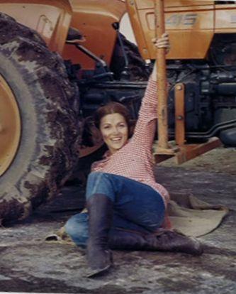 som Lisbeth, i Manden på Svanegården fra 1972.