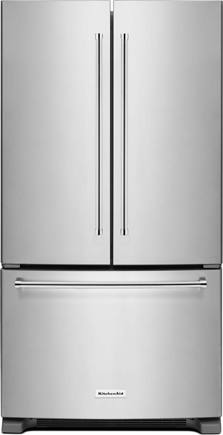 Krff305ess by kitchenaid french door refrigerators