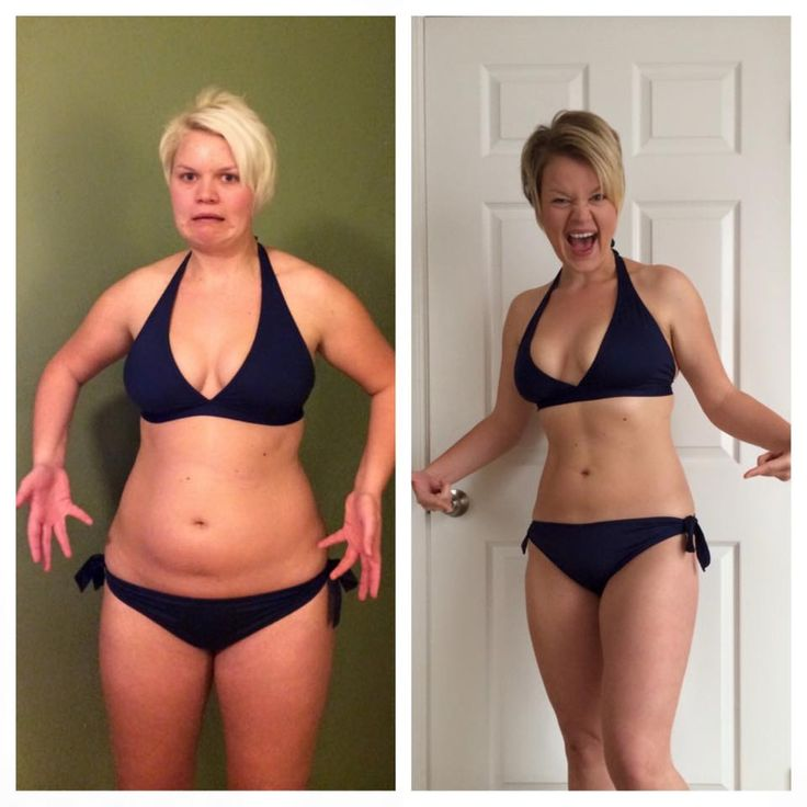 21 Day Fix: Before & After Ashley lost 22 pounds and 18 inches after completing 3 rounds!