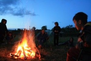 Wookey Farm campsite