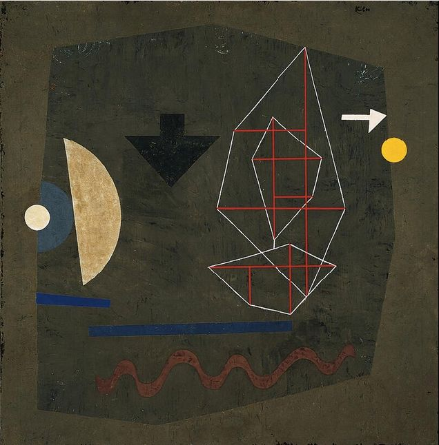 Paul Klee (1879 - 1940) Possibilities at sea, 1932