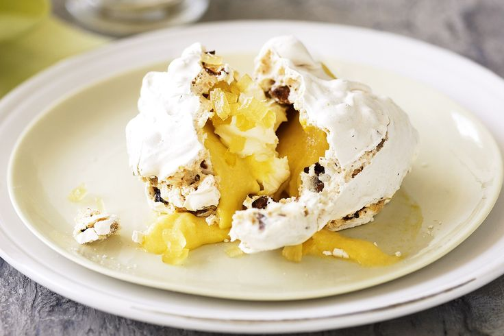 APRICOT AND GINGER CURD~~~~~~~~Make a decadent ginger-laced curd, then use it to fill light meringues for this impressive dessert by Georgina Kaveney.
