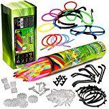 sparen25.info , sparen25.com#9: Mega Knicklicht Party Pack - 100 Knicklichter KNIXS, 100 x 3D-Verbinder, 5 x Kreisverbinder, 2 x…sparen25.de