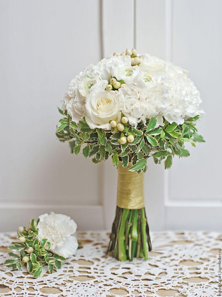 Свадебные букет невесты на заказ минск, букет