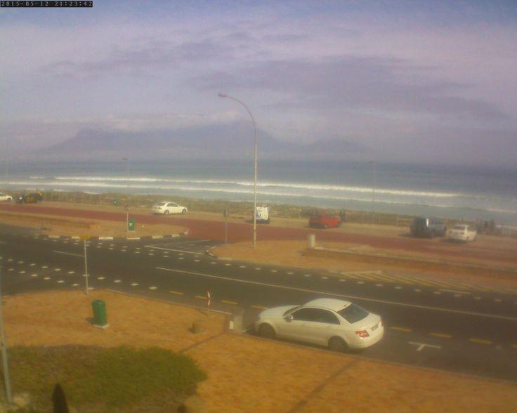 Kite Beach - Bloubergstrand - http://www.bestkiteboardingafrica.com/Webcam.php