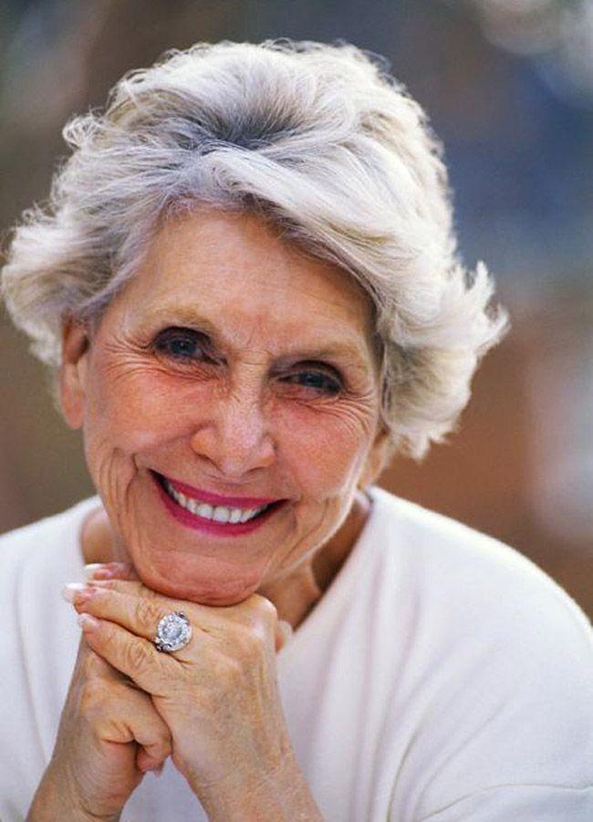grey hair women over. 60 | Hairstyles for seniors, Short straight hair, Best short haircuts