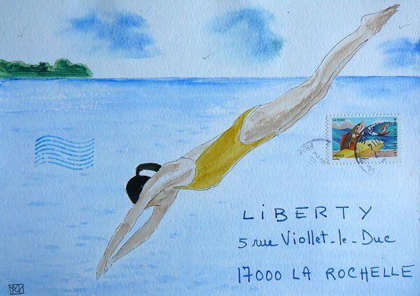 Mail Art - Marie Vailh