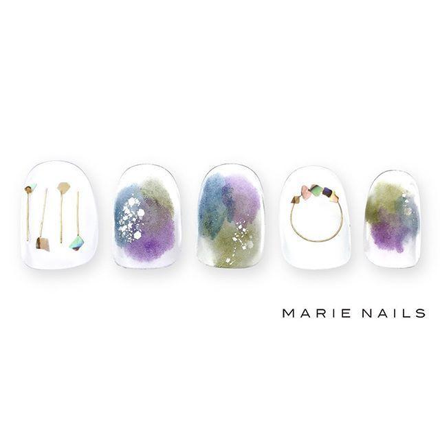 #マリーネイルズ #marienails #ネイルデザイン #かわいい #ネイル #kawaii #kyoto #ジェルネイル#trend #nail #toocute #pretty #nails #ファッション #naildesign #ネイルサロン #beautiful #nailart #tokyo #fashion #ootd #nailist #ネイリスト #ショートネイル #gelnails #instanails #newnail #purple #simple #autumn
