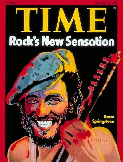 Oct. 27, 1975: Bruce Springsteen. To this day, a big collector's item on eBay. Bruce was famously on the cover of Newsweek at the same time.