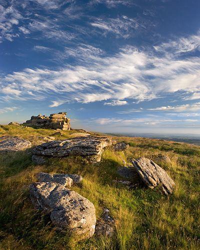 Dartmoor, Devon, Ger Tor Cirrus