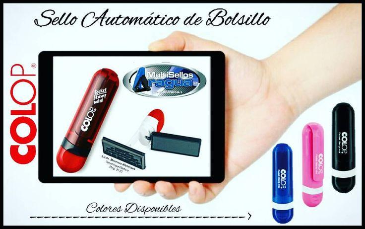 Buenos Dias!! Sello automático de #Bolsillo #Colop Original  al mejor precio Servicio en tiempo record 1 HORA!!!. Gama de Colores Disponibles (Rosado Azul Vinotinto y Negro) Ubicanos en el @ccgranbazarmcy  local B-47.  Contáctanos al   02432480702 Multisellos Aragua lo que sí marca a tu estilo!!! #Maracay #Valencia #Caracas #Barquisimeto #Carabobo #Sellos #multisellosaragua #Trodat #Colop #Shiny #Profesionales #Abogado #Contador #Administrador #Médico #Like4like #IgersVenezuela #Ventas…