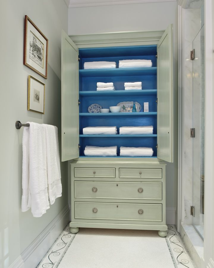 51 best images about gary inman home couture on pinterest for Blue lino for bathroom