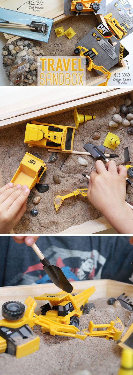 Travel Sandbox | 20+ DIY Christmas Gifts for Kids to Make