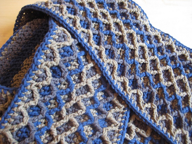 crochet zigzag crochet knit scarfs cowls free crochet scarf patterns ...
