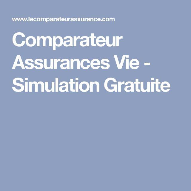 Comparateur Assurances Vie - Simulation Gratuite