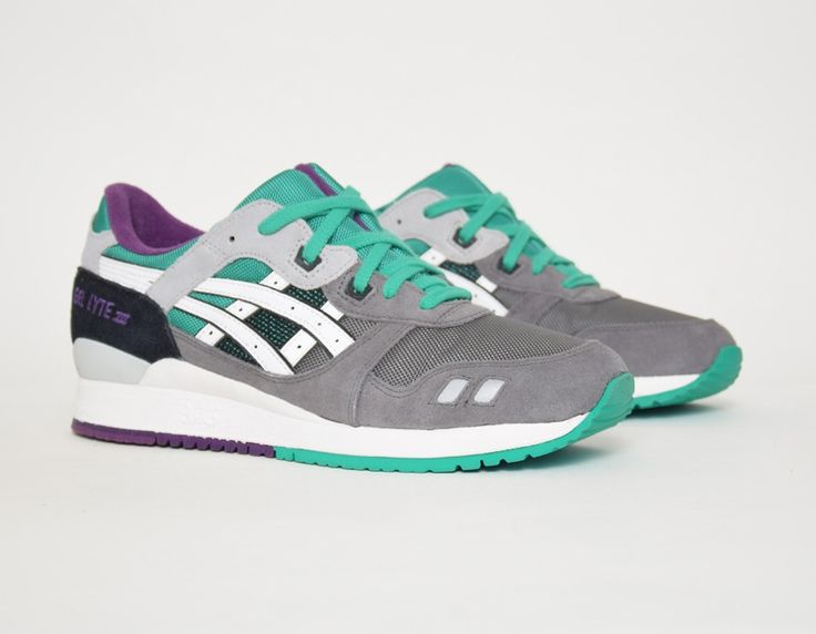 new product 74fae 1414d  Asics Gel Lyte III Grey Green  sneakers