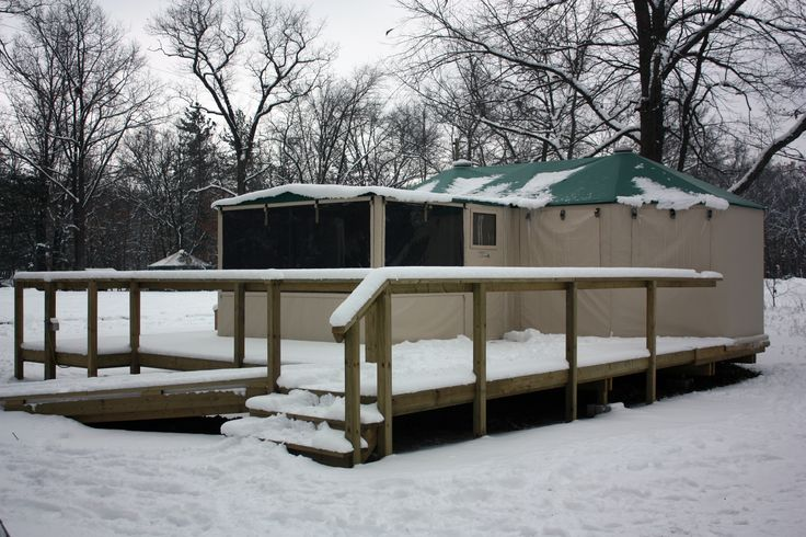 Deluxe Yurt at Pinery Provincial Park
