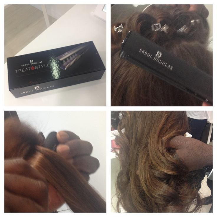 Keratin capsule system Treat heated styling tool by Errol Douglas, a first on the high street. High shine, treatment infusing.
