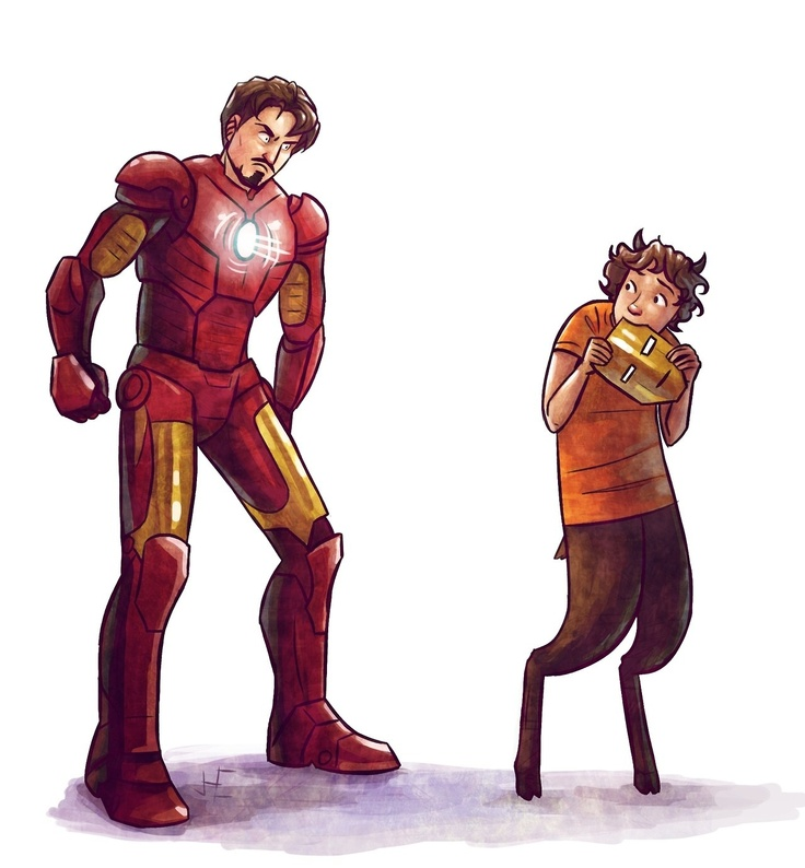Grover underwood eating iron man >>> Pinning, because I could actually see this happening xD