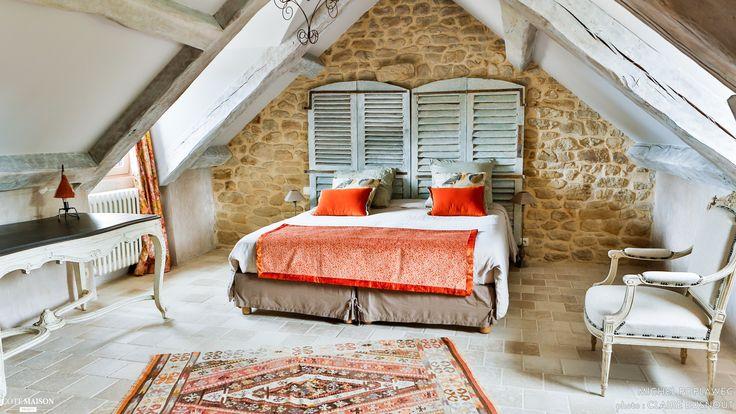 Le Pré-Verdine, longère transformée en gîte de luxe dans le golfe du Morbihan 5 étoiles 5 épis, Crac'h, Michel Poplawec - gîte, chambre d'hôtes