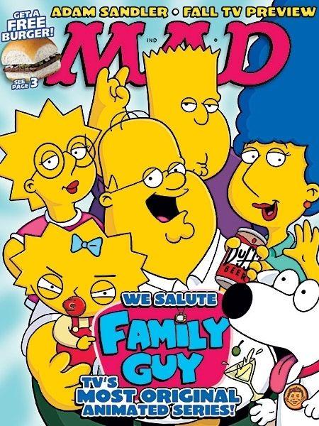 Family Guy as Simpsons Fan art