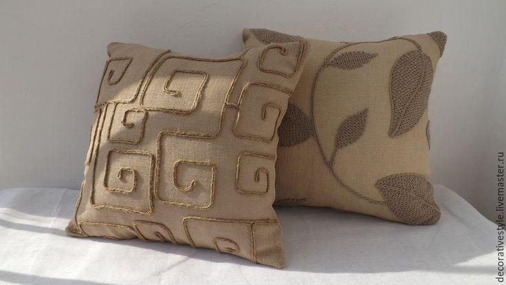 Купить Подушки декоративные. Подушки льняные. - подушки декоративные, Подушки, подушки льняные, подушки интерьерные