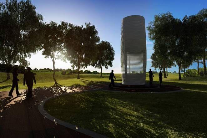 World's largest air purifier aims to create 'Smog Free Parks' in cities around the world - Derek Markham (@derekmarkham) Technology / Gadgets August 18, 2015