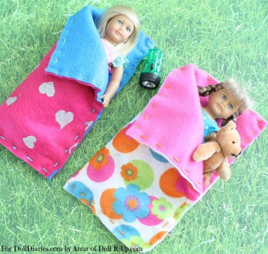 Free Crochet Pattern For American Girl Sleeping Bag : 17 Best images about AG MINIS on Pinterest Doll dresses ...